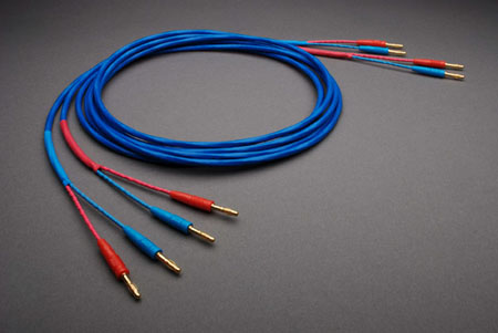 Crimson Loudspeaker Cables with MC Banana connectors